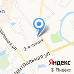 Муринские бани на карте Санкт-Петербурга