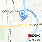 Oil City на карте Санкт-Петербурга