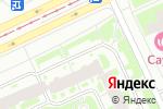 Схема проезда до компании Органик Нева в Санкт-Петербурге