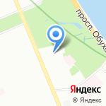 Средняя общеобразовательная школа №328 с углубленным изучением английского языка на карте Санкт-Петербурга