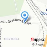 Мотор на карте Санкт-Петербурга