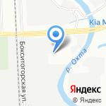 Магазин автошин и дисков на карте Санкт-Петербурга