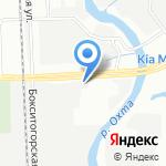 Автошок на карте Санкт-Петербурга