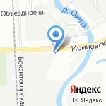 Auto9 на карте Санкт-Петербурга