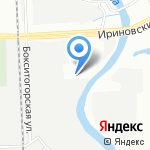 Март-Авто на карте Санкт-Петербурга