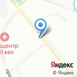 Муринский на карте Санкт-Петербурга