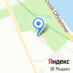 Левобережный на карте Санкт-Петербурга