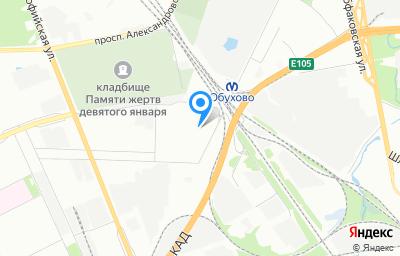 Местоположение на карте пункта техосмотра по адресу г Санкт-Петербург, пр-кт Девятого Января, д 19 литер а