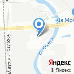Акимото на карте Санкт-Петербурга
