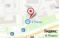 Схема проезда до компании Петролайн в Санкт-Петербурге