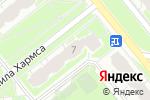 Схема проезда до компании ЛСР. Недвижимость-Северо-Запад в Санкт-Петербурге