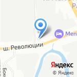 Резина812 на карте Санкт-Петербурга