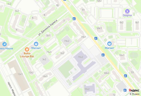 жилой комплекс Новая Охта