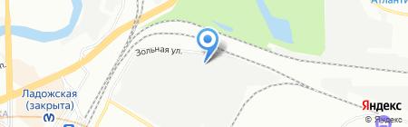 Гидро Склад на карте Санкт-Петербурга