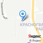 Афалина на карте Санкт-Петербурга