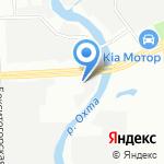Авто Сити на карте Санкт-Петербурга