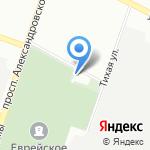 Авангард на карте Санкт-Петербурга