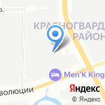 ФАБЕР на карте Санкт-Петербурга