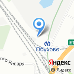 Ракета на карте Санкт-Петербурга
