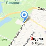 КСП на карте Санкт-Петербурга