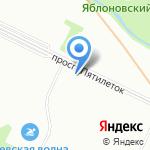 Дарья на карте Санкт-Петербурга