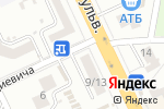 Схема проезда до компании Двери Белоруссии в