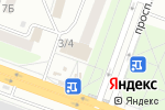 Схема проезда до компании Техно Азимут в