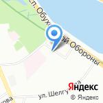 ANEVA STUDIO на карте Санкт-Петербурга