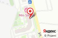 Схема проезда до компании Естный в Новом Девяткино