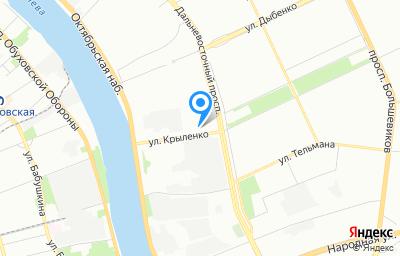 Местоположение на карте пункта техосмотра по адресу г Санкт-Петербург, пр-кт Дальневосточный, д 41 литер б