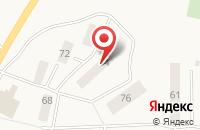 Схема проезда до компании Людмила в Лесколово