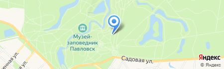 Молочный Домик на карте Санкт-Петербурга