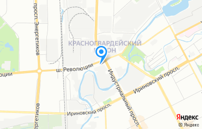 Местоположение на карте пункта техосмотра по адресу г Санкт-Петербург, ш Революции, д 65 литер д
