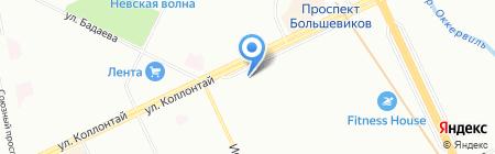 Банкомат Росгосстрах Банк на карте Санкт-Петербурга