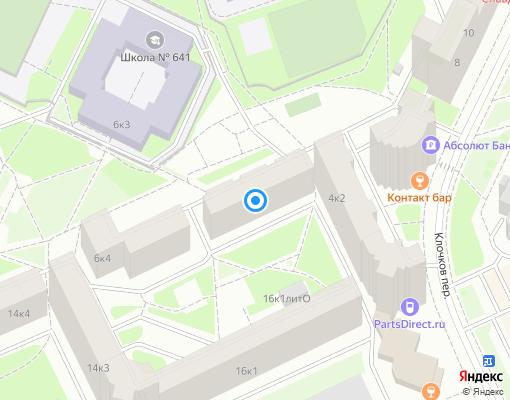 Жилищно-строительный кооператив «Коллонтай 16/3» на карте Санкт-Петербурга