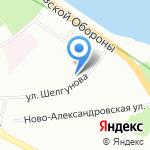 Магазин чая на карте Санкт-Петербурга