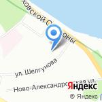 Мини-люкс на карте Санкт-Петербурга