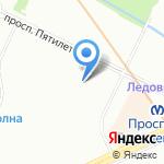 Начальная школа №689 на карте Санкт-Петербурга