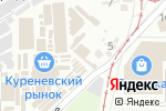 Схема проезда до компании Магазин бензоинструмента в