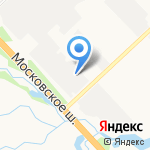 Петроскан на карте Санкт-Петербурга
