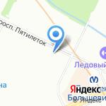 Нежная забота на карте Санкт-Петербурга