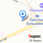 Абсолют на карте Санкт-Петербурга