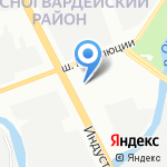 Пузыри на карте Санкт-Петербурга
