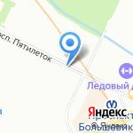 СИиР на карте Санкт-Петербурга