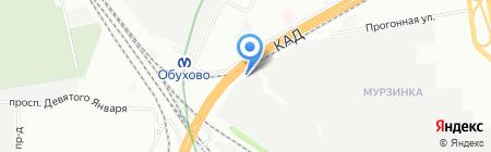 Нордэкс на карте Санкт-Петербурга