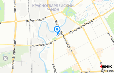 Местоположение на карте пункта техосмотра по адресу г Санкт-Петербург, пр-кт Ириновский, д 14 к 1 литер а, пом 2Н