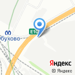 Курьер Сервис-78 на карте Санкт-Петербурга