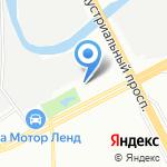 Вольтаж на карте Санкт-Петербурга