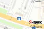 Схема проезда до компании Парикмахерская в
