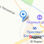 BS service на карте Санкт-Петербурга